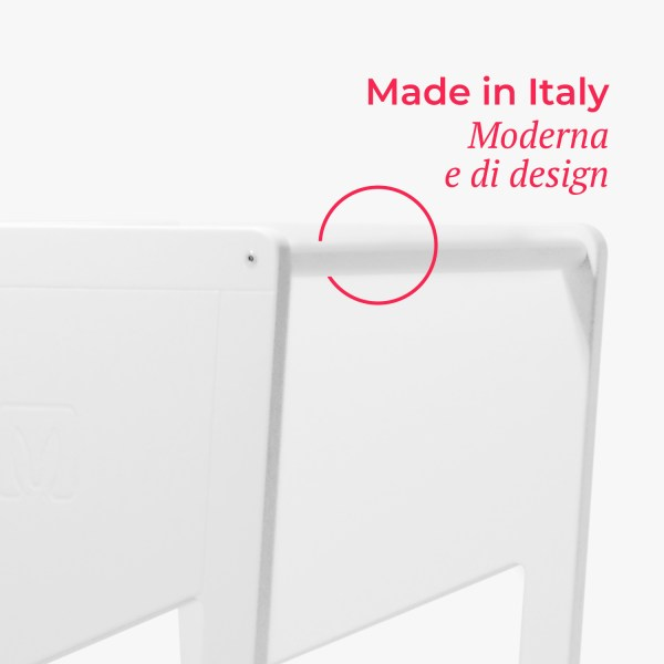 moka white made italy