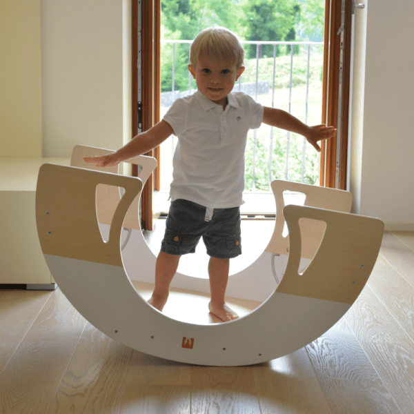 Bianconiglio Kids Rocker Table - rocker board