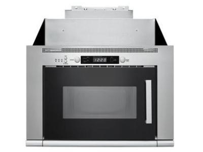 whirlpool 0 8 cu ft space saving microwave hood combination umh50008hs