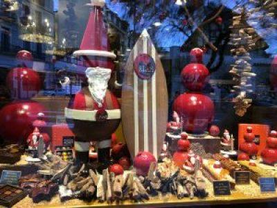 Maison Adam Biarritz - Vitrine de Noel