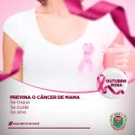 Outubro Rosa – a prevenção do câncer de mama é o melhor remédio