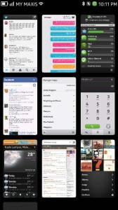 N9 Multi-Tasking View