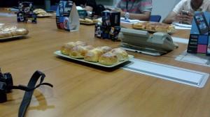 Pastries courtesy of Nokia Malaysia