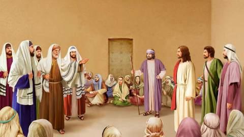 Gesù,farisei,discepoli,cristiani