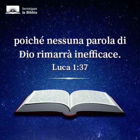 Una Bibbia aperta