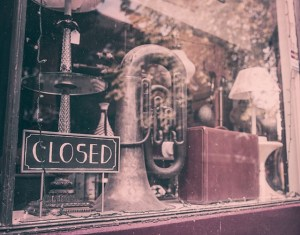 small business failures closed