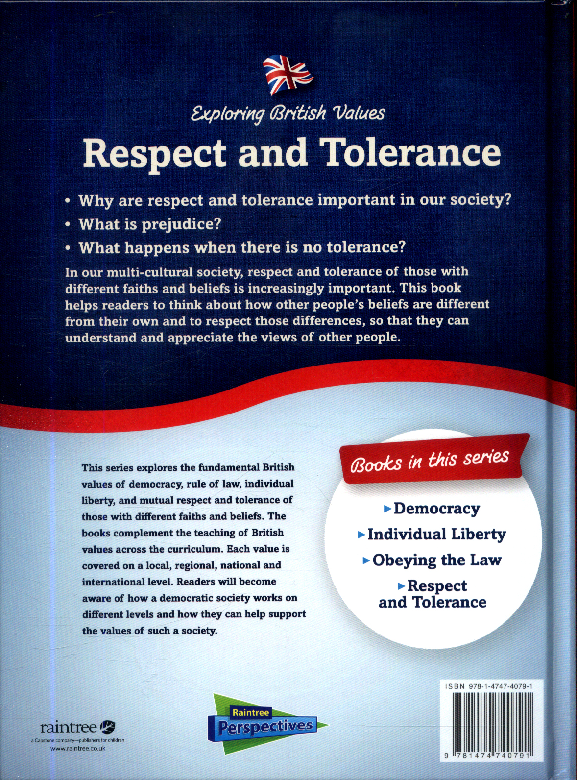 Respect And Tolerance By Chambers Catherine