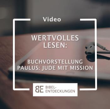 """WERTVOLLES LESEN Interview: Guido Baltes – """"Paulus – Jude mit Mission"""""""