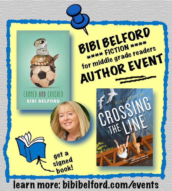 bibi belford author events
