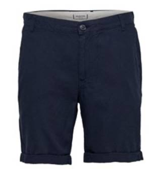 SELECTED - Short in cotone blu
