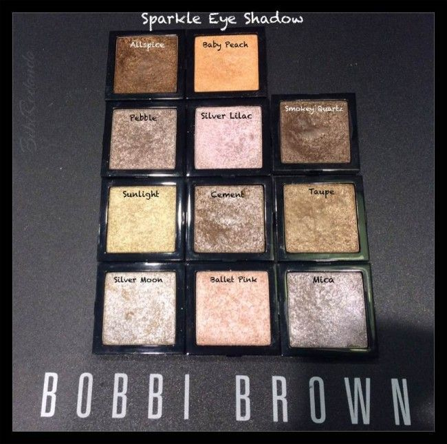 SPARKLE de Bobbi Brown - sombras con brillo