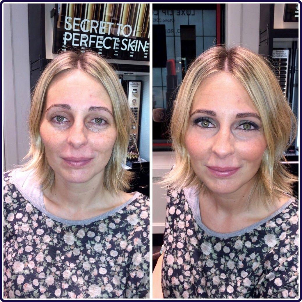 Maquillaje a Silvia con sombra gris/verdoso - Shimmer Wash Eye Shadow