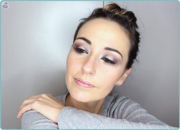 Maquillaje en tonos suaves con sombra Club de Mac