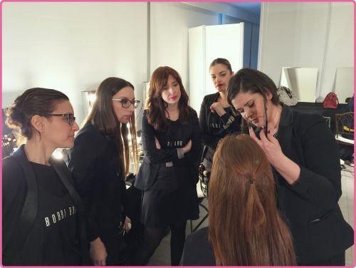 Maquillando para Desfile de novia Bodabook - Bobbi Brown