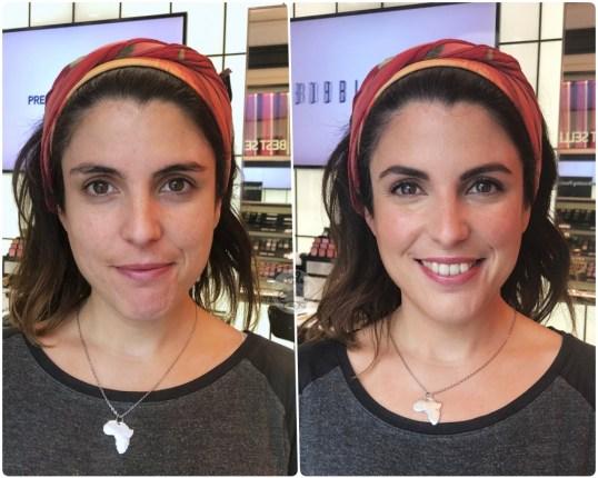 ANTES/DESPÚES a Marieta Hairstyle - Studio Bobbi Brown