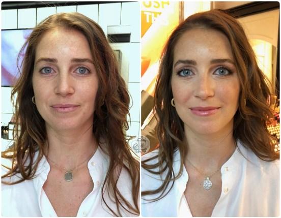 Maquillaje Antes/ Después a Aruca - Bobbi Brown