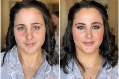Antes/después a Lola - Bobbi Brown Cosmetics