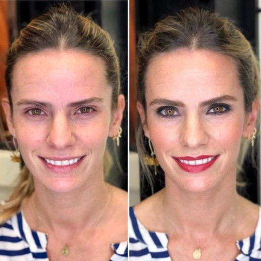 Antes /después Casilda -Bobbi Brown Lagasca