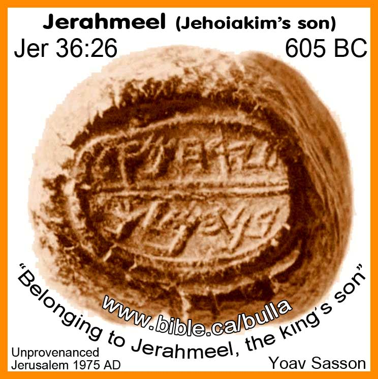 Image result for Gemariah, the official, and Jerahmee, the king's son