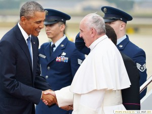 The Pope meets Mr Obama