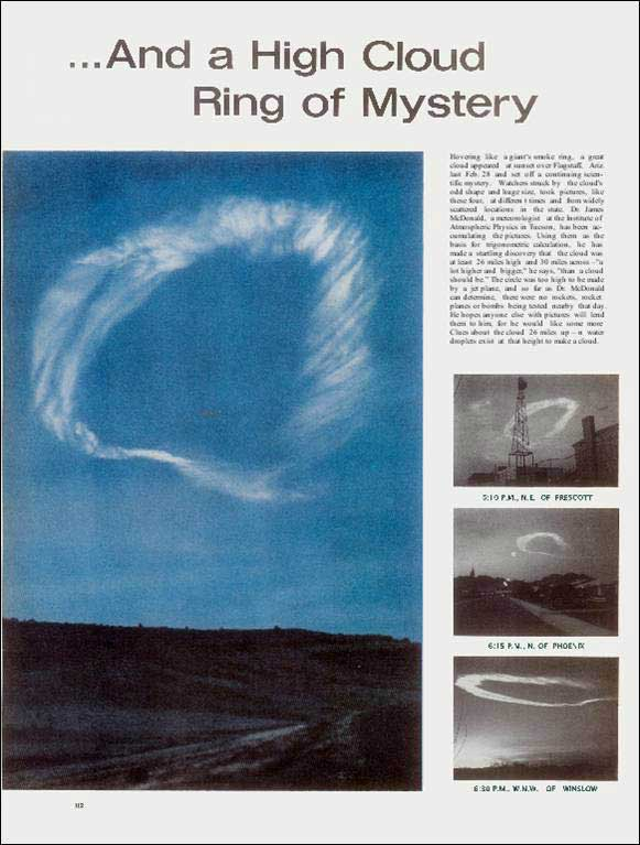 Matthew 24:3b, the Sign of His Coming, February 28, 1963 featured in Life Magazine, May 17, 1963