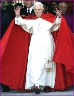Benedict XVI and hand sign