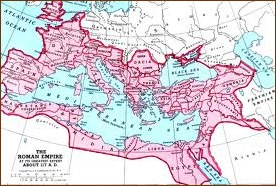 Extent or Roman Empire