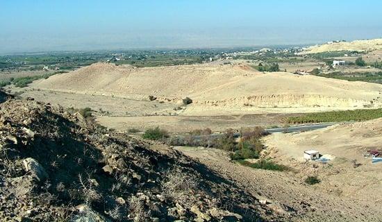 Tall el Hammam Jordan Valley - possible location of Sodom