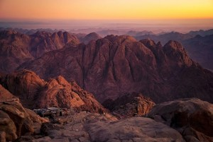 Modern day Mount Sinai - possibly the biblical Mount Sinai