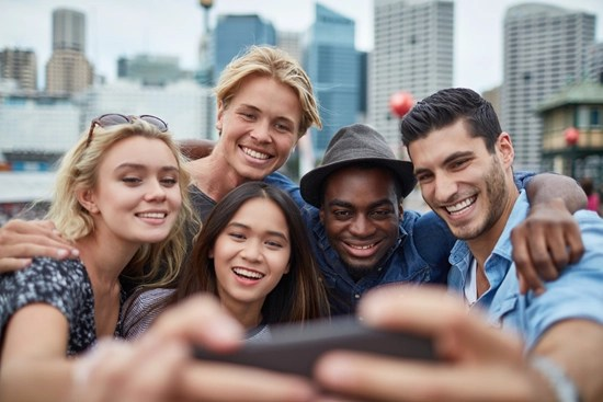 Generation X Z Millennial youth