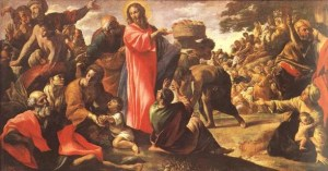 The Multiplication of the Loaves and Fishes (Giovanni Lanfranco)