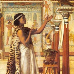 Egyptian magician - Artist Unknown