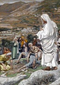 The Possessed Boy at the Foot of Mount Tabor - James Tissot