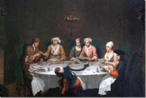 Passover celebration - Artist unknown