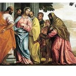 Christ Meeting Sons and Mother of Zebedee - Paolo Veronese (1565)