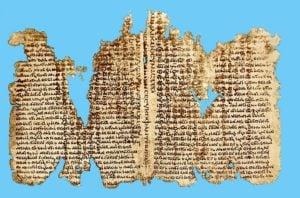 Fragment from Origen's Hexapla