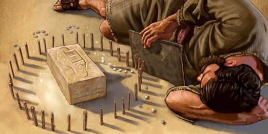 Using symbolisms, God shows Ezekiel how to launch a siege against a rebellious Jerusalem (Ezekiel 4:1 – 4:17) | Bible Blender
