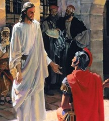 Jesus and the centurion - unknown