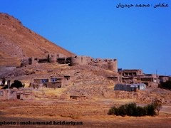 Ancient castle in the village of Mount Seir