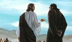 Christ and a Disciple - Unknown