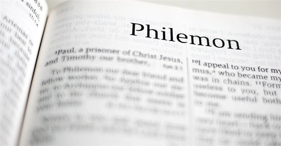 Detailed outline of the Book of Philemon