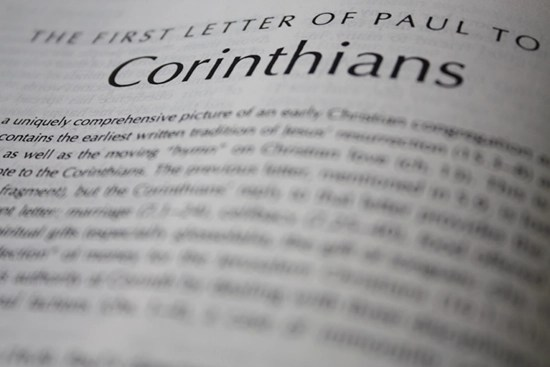 Detailed outline of 1 Corinthians