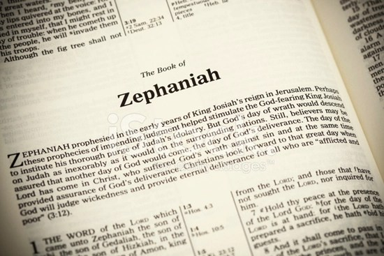 Detailed outline of the Book of Zephaniah