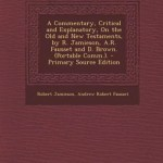Jamieson Fausset and Brown Commentary