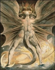 The Great Red Dragon and the Woman Clothed with the Sun - William Blake (1803-1805)