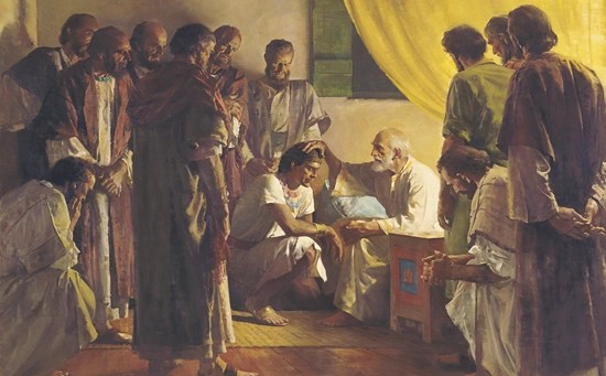 Jacob blesses the Twelve Tribes before breathing his last breath