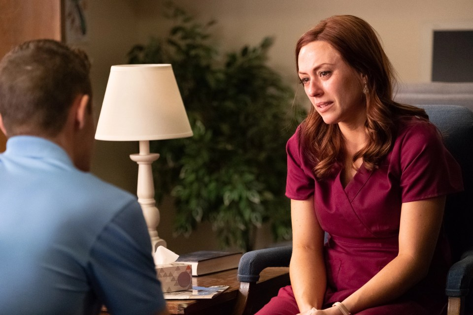 Movie still from anti-abortion movie Unplanned