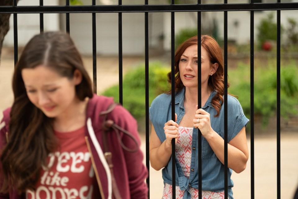 Movie still from anti-abortion movie Unplanned