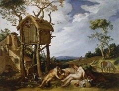 Parable of the Wheat and the Tares - Abraham Bloemaert (1624)