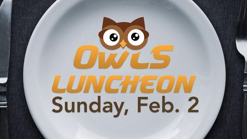 OWLS Luncheon (55+)
